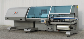Горизонтальная упаковочная линия с термотуннелем и с непрерывной подачей инертного газа.